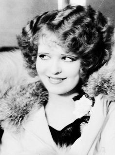 "Clara Bow-Silent Movies. She was called the ""IT Girl"". Co-starred with Rudolph Valintino and John Barrymore."