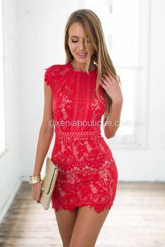 Jessica 2.0 Dress (Red)