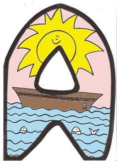 Abecedario y carteles para recibir al verano Para crear el rincón del verano en clase o hacer bonitos carteles