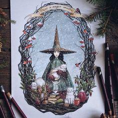 La ilustradora y artista de origen ruso Lia Selina siempre ha adorado los cuentos de hadas y gracias a su gran destreza ilustrando es capaz de cons...