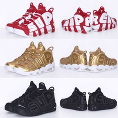 Nike Air More Uptempo x Supreme Nike Timberland, Best Sneakers, Sneakers  Nike, Lit a321b3fb81f9