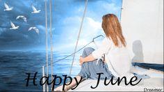 Animated Gif by Nataliya_Aleshkina Happy June, Happy Weekend, Gifs, Night Window, Hello June, Water Reflections, Visual Merchandising, Female Art, Peace And Love