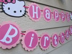 Hello Kitty Birthday Banner Template | Hello Kitty Party continued ...