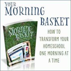 How to use a morning basket to simplify your homeschool routine! Include all your children and start the day off right with a homeschool morning basket. High School Chemistry, High School History, Bible Object Lessons, Homeschool High School, Abeka Homeschool, Homeschool Kindergarten, Preschool Books, Train Activities, Summer Reading Program