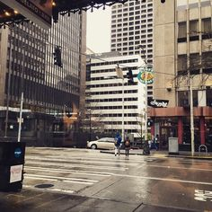 """The view from Vovito Seattle...  """"I do love this city. Rain, clouds and all. #coffee #Seattle"""" -Steve, via Instagram  We do too!"""