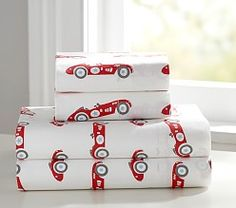 Vintage Cars Duvet Cover | Pottery Barn Kids