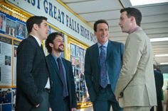 Jason Biggs, Chris Klein, Thomas Ian Nicholas and Eddie Kaye Thomas in American Reunion 2012