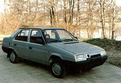 Skoda Favorit Sedan Prototype