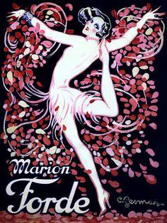 Marion Forde  by Gesmar  http://www.vintagevenus.com.au/vintage/reprints/info/ENT355.htm