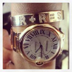 <3 my Jennifer Fisher bracelet… Rachel + Rodger = Skyler