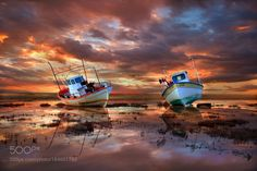 Sleeping boats by christos-lamprianidis #landscape #travel