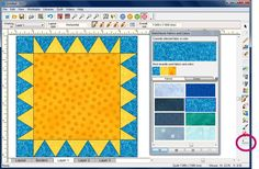 You can use EQ7 to design a quilt label and then print it out directly onto EQ Printable Fabric Sheets!Here is a great video that helps explain how to do it!Or, we also have the written out steps... Setting up the label Click WORKTABLE