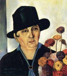 Felix Nussbaum - My Mother, 1926.
