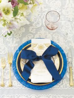 Place Setting Inspiration - Table Decor Ideas