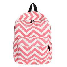 2016 omen Double-Shoulder Sweet Stripe Canvas Backpack Schoolbag Large Student Women Shoulder Bags Free Shipping