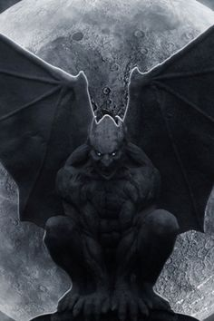 gargoyle art gargoyle statue side view by nixie04 on deviantart gargoyles pinterest. Black Bedroom Furniture Sets. Home Design Ideas