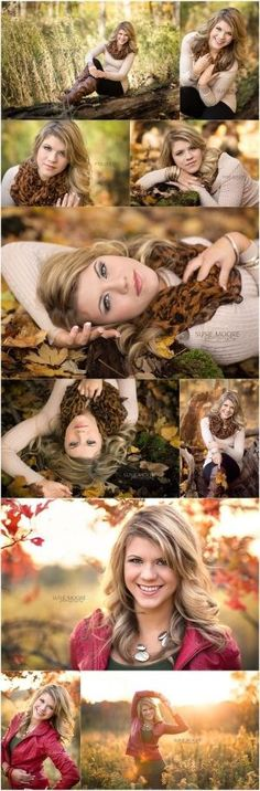 senior pictures- fall- ideas