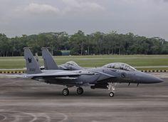 Republic of Singapore Air Force Boeing F-15SG Strike Eagle