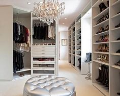 on of my dream closets..