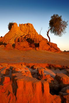 Mungo National Park, New South Wales, Australia----In the middle of Outback NSW… Western Australia, Australia Travel, Melbourne Australia, Places Around The World, Around The Worlds, Outback Australia, Beautiful World, Beautiful Places, South Wales