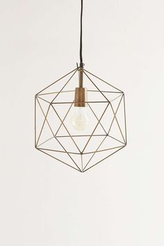 Magical Thinking Geo Pendant Light - Urban Outfitters