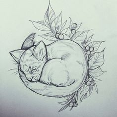 Instagram @essitattoo #cat #babycat #kissa #pencil #drawing #art #illustration #tattoodesign #essitattoo #ylöjärvi #draw #artist #illustrator #tattooartist #tattoodrawing #sketchbook #artsy #instaart #animalart #kuvittaja #tatuoija