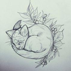 Nopeat luonnokset saa aina uutta ilmettä puhtaaksi piirtäessä #cat #babycat #kissa #pencil #drawing #art #illustration #tattoodesign #essitattoo #ylöjärvi #draw #artist #illustrator #tattooartist #tattoodrawing #sketchbook #artsy #instaart #animalart #kuvittaja #tatuoija