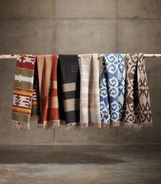 The American-Made Guide to Life: Pendleton 2012 Portland Collection Fringed Scarves & Another 2013 Teaser
