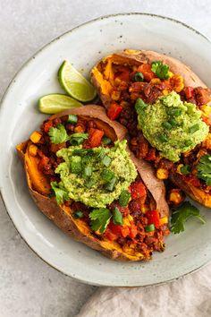 Vegetarian Recepies, Vegetarian Main Dishes, Vegan Dinner Recipes, Vegan Dinners, Vegan Recipes Easy, I Love Food, Good Food, Yummy Food, Pureed Food Recipes