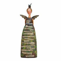 Kelly Rae Roberts Collection Angel Hopeful Spirit Angel  18061 Retired - $23