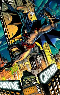 Thomas Wayne, the Batman of the Flashpoint alternate universe, by Andy Kubert Comic Book Artists, Comic Artist, Comic Books Art, Im Batman, Batman Robin, Funny Batman, Superman, Dc Comics Art, Marvel Dc Comics