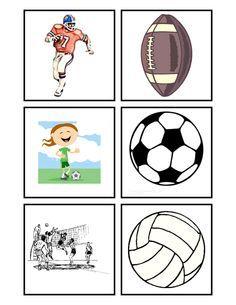 Preschool Is Fun Planning Activities: Sport Match