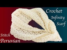 How to Crochet United Stitch. You can crochet almost everything with this stitch. Crochet Stitches, Knit Crochet, Crochet Patterns, Crochet Collar, Crochet Videos, Crochet Scarves, Etsy Handmade, Crochet Projects, Knitting