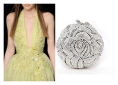 """""""Monte Carlo Lady, Diamante Crystal Clutch Bag"""" by acanthaluxury on Polyvore"""