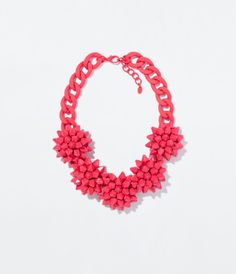 Image 1 of FLOWER NECKLACE from Zara