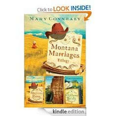 Only $2.99 on Kindle right now! Montana Marriages TRILOGY by Mary Connealy  http://www.amazon.com/gp/product/B0067D8I5I?ie=UTF8&camp=213733&creative=393177&creativeASIN=B0067D8I5I&linkCode=shr&tag=chrisbooksrev-20&qid=1388248462&sr=8-8&keywords=mary+connealy