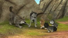 alpha and omega wolves | Alpha and Omega 3 The Great Wolf Games (2014) BluRay 720p 350MB