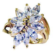 White CZ Copper beauteous Designer Ring White L-1in UK KMOQ