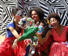 Grupo de palhaças se apresenta neste final de semana em um espaço cultural na Vila Madalena.