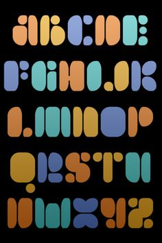 Fontstruct Font | Permanent Black