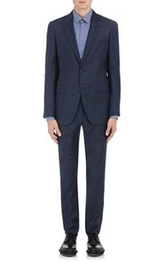 LANVIN Attitude Two-Button Suit. #lanvin #cloth #suit