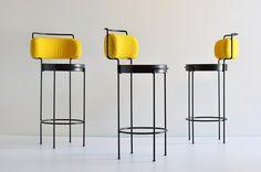 Iaiá chair by Gustavo Bittencourt O Design, Interior Design, Bar Stools, Sweet Home, Instagram, Modern, Kitchen, Table, Inspiration