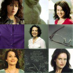 Carla Gugino as Beth Banner  - aka Hulk