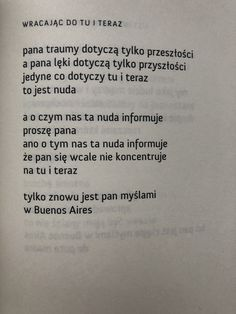 Andrzej Kotański Poem Quotes, Daily Quotes, Really Good Stuff, I Am Sad, Poetry Poem, Film Books, Some Words, Psychology, Letters