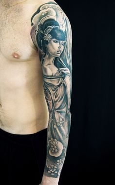 sleeve by federico benedetti woman & flowers