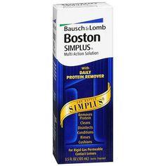 Boston Simplus Multi-Action Solution for Rigid Gas Permeable Contact Lenses - 3.5 oz.