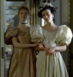 Molly Gibson's evening dress from 'Wives and Daughters'. Would make an interesting wedding dress.