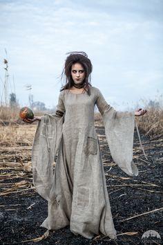 """Halloween-Kostüm Chemisekleid """"Die Hexe"""""""