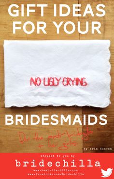 Gift ideas for the Bridechilla team! #bridesmaids #giftideas #bridesmaidgift #funnygifts