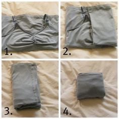 """How to """"file fold"""" annoying things like tank tops in the name of saving space & seeing your clothes"""
